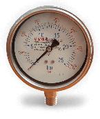 Đông hồ đo áp suất thân inox