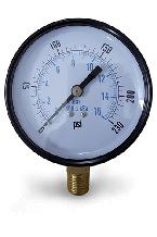 đồng hồ đo áp suất vỏ thép chân đồng