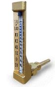 nhiệt kế thủy ngân chân vuông