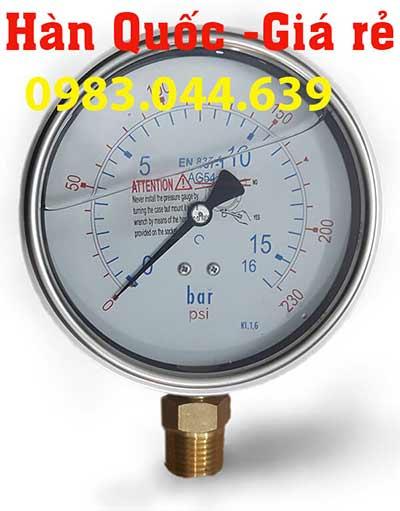 Đồng hồ áp lực dầu